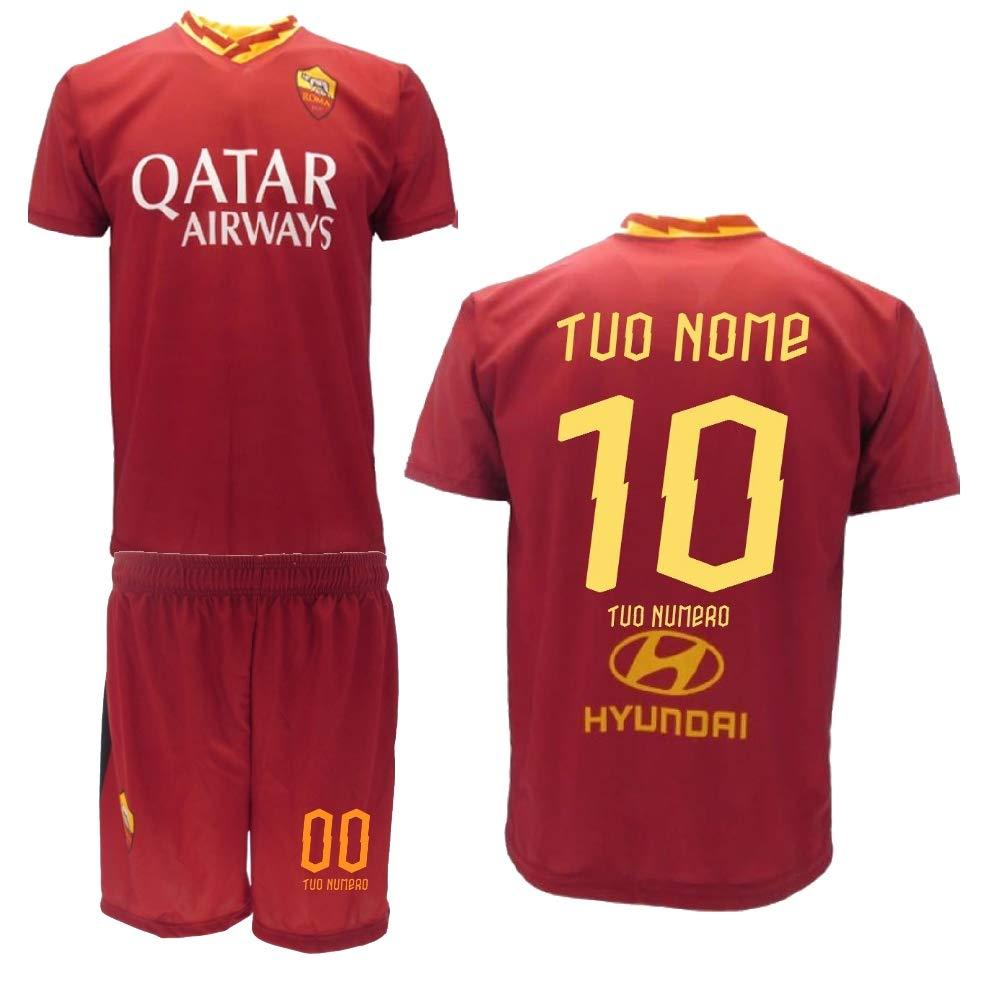 BrolloGroup Completo Calcio As Roma Personalizzato Replica ...