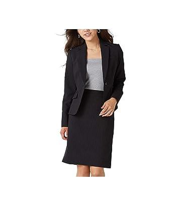 [nissen(ニッセン)] (ひざ上丈 50cm) オールシーズン スカートスーツ 定番 セットアップ レディース 洗える オフィススーツ 上下