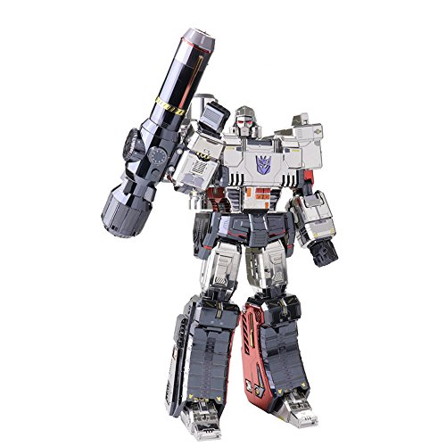 Transformers Metal Toy (2018 MU 3D Metal Puzzle Transformers Megatron Model YM-L055-C DIY 3D Laser Cut Assemble Jigsaw Toys For Audit)