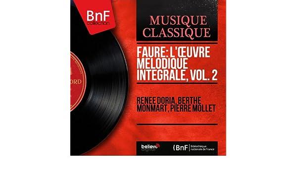 3 Mélodies, Op. 23: No. 3, Le secret de Simone Gouat Berthe ...