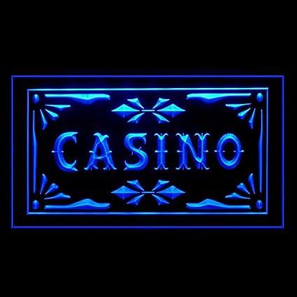 230022 Cartel de luz LED para juego de mesa de casino: Amazon.es ...