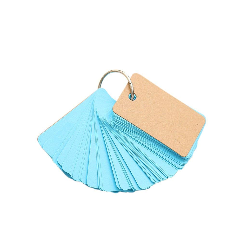 Mini Buckle Loose-Leaf Blank Kraft Paper 90 Pages Portable Memo Notes for Everyone Premium Quality