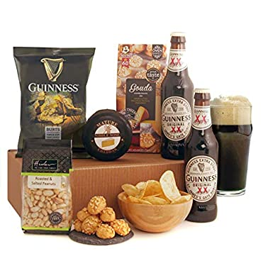 Guinness Gifts - This Popular Beer Gift Includes 2 Bottles of The Magic of Guinness with Savoury Snacks and Cheese - *New* Revised Version: Amazon.co.uk: ...