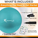 Exercise Ball for Yoga, Balance, Stability from