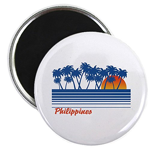 CafePress - Philippines Magnet - 2.25