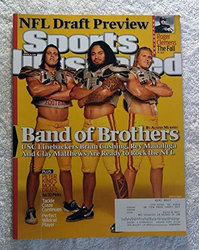 Brian Cushing, Rey Maualuga & Clay Matthews - USC Trojans' Linebackers - Sports Illustrated - April 27, 2009 - NFL Draft Preview - SI