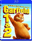 Garfield Fat Cat Double Pack: The Movie + A Tail of Two Kitties // Garfield Duo Gros Maton: Le film + Pacha Royal (Bilingual) [Blu-ray]