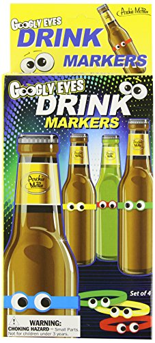 Accoutrements Google Eyes Drink Markers