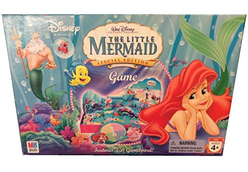 The Little Mermaid Special Edition 3-D Board Game