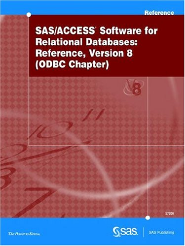 SAS/ACCESS Software for Relational Databases: Reference, Version 8 PDF