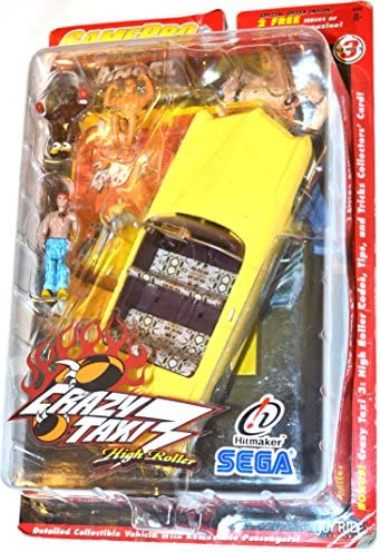 Crazy Taxi 3 High Roller ANGEL figures and vehicle