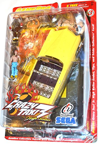 Crazy Taxi 3 High Roller ANGEL with figures and vehicle