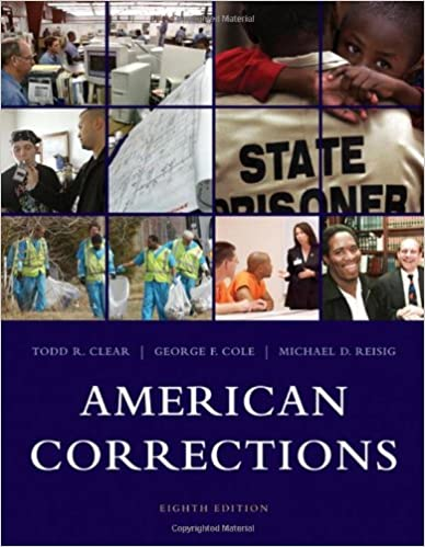 American corrections todd r clear george f cole michael d american corrections 8th edition fandeluxe Image collections