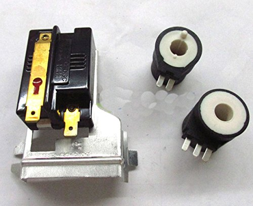 Parts & Accessories AND COILS KIT FOR WHIRLPOOL 338906 279834 GAS DRYER HEAT SENSOR ()