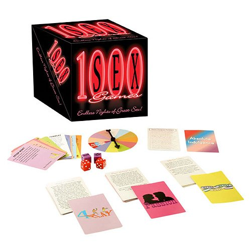 1000 Sex Games- Sexy Card Game For Party & Couples