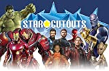 Star Cutouts SC1138 Marvel Avengers Infinity