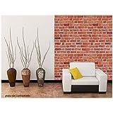 stickers vinyle autocollant mur brique en pierre adh sif mur brique en pierre autocollant mur. Black Bedroom Furniture Sets. Home Design Ideas