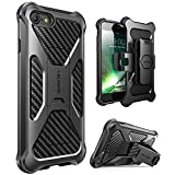 Save on iPhone 8 Case, i-Blason Transformer [Kickstand] Apple iPhone 8 2017 Release [Heavy Duty] [Dual Layer] Combo Holster Cover case with [Locking Belt Swivel Clip] (Compatible with Apple iPhone 7) and more