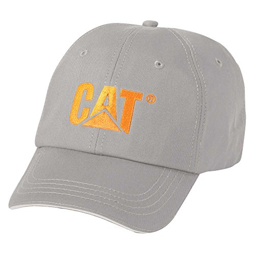 Caterpillar Men's Stand-Out Logo Cap, Grey, One Size