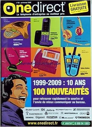 Amazonfr One Direct No 59 Du 01042009 Audioconference
