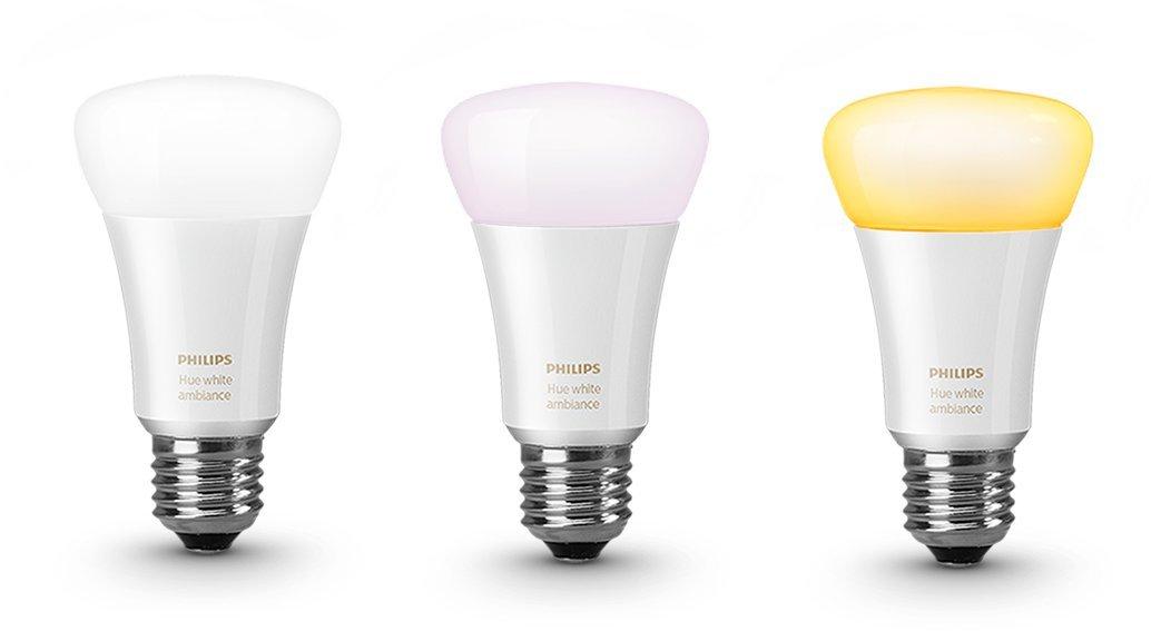Hue Compatible Lampen : Hue white ambiance led lampe e27 starter set inkl. dimmschalter und