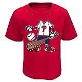Toddler Boy's Tee-Shirt - Philadelphia Phillies Head Size 4T