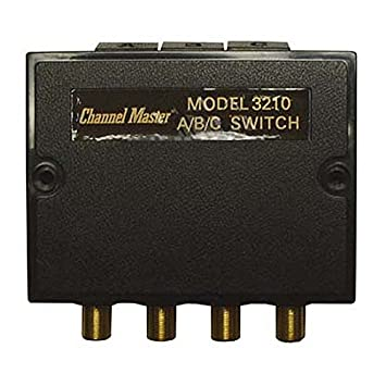 Amazon.com: Coaxial A/B/C Switch 3-75 Ohm Inputs 80 dB High ...