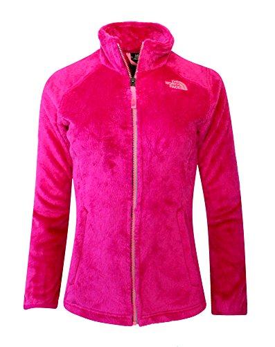 The North Face Osolita Jacket Big Kids GIRLS FLEECE Luminous Pink (Large / 14-16)