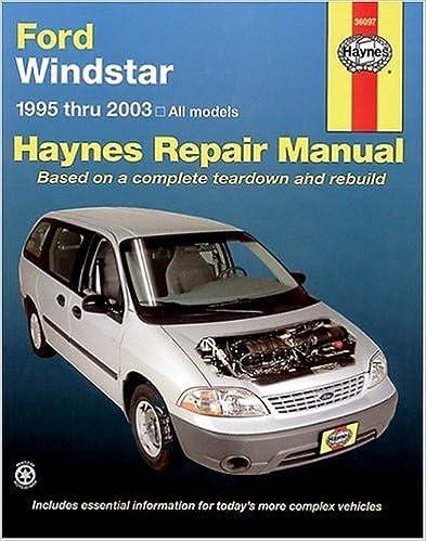 95 windstar engine wiring diagram ford windstar 1995 2003  haynes repair manuals  haynes  ford windstar 1995 2003  haynes repair