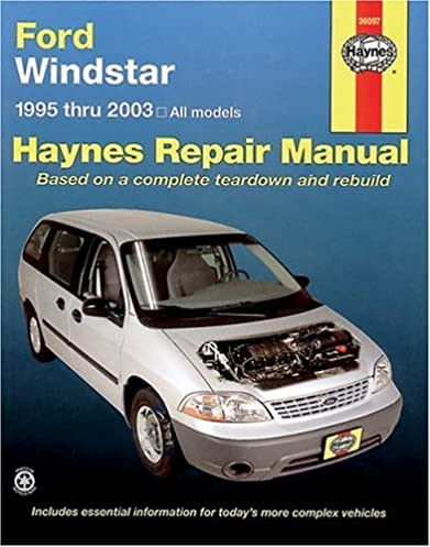 ford windstar 1995 2003 haynes repair manuals haynes rh amazon com Rocker Panels 2002 Windstar 2002 Windstar Fuse Panel