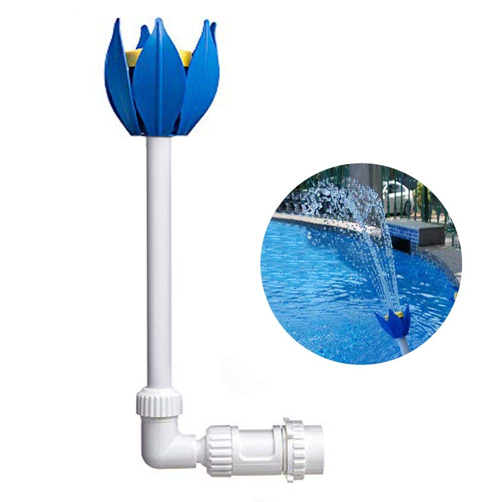 CONIE Pool Fountain Fun Water Sprinkler Above & Inground Swimming Pool Waterfalls Spray Pond Decor