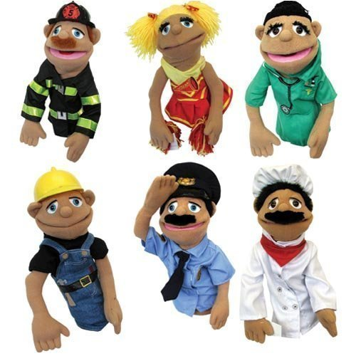 Set of 6 Puppets (Walter The Puppet)