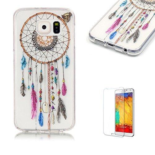 15 opinioni per per Samsung Galaxy S6 Custodia,Funyye Morbida Sottile TPU Gel Silicone Cover