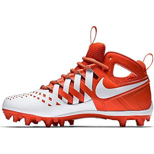 Nike Mens Huarache V Lax Scarpe Con Tacchetti Arancione