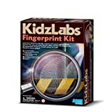 Clues! Crimes! Police! With this super cool Detective Science Fingerprint Kit Detective Science Fingerprint Kit! by 4M Kidz Labs For Ages 7+