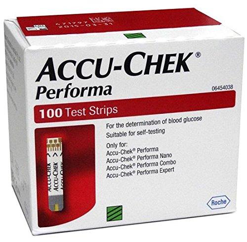 Accu Chek Performa Without Chip 200 Strips (Accu Chek Test Nano)