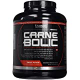 Ultimate Nutrition Carnebolic Hydrolyzed Beef Protein Isolate, Fruit Punch, 3.7 Pound