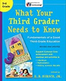 img - for What Your Third Grader Needs to Know (Revised and Updated): Fundamentals of a Good Third-Grade Education (The Core Knowledge Series) book / textbook / text book