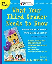 What Your Third Grader Needs to Know (Revised and Updated): Fundamentals of a Good Third-Grade Education (Core Knowledge Series)