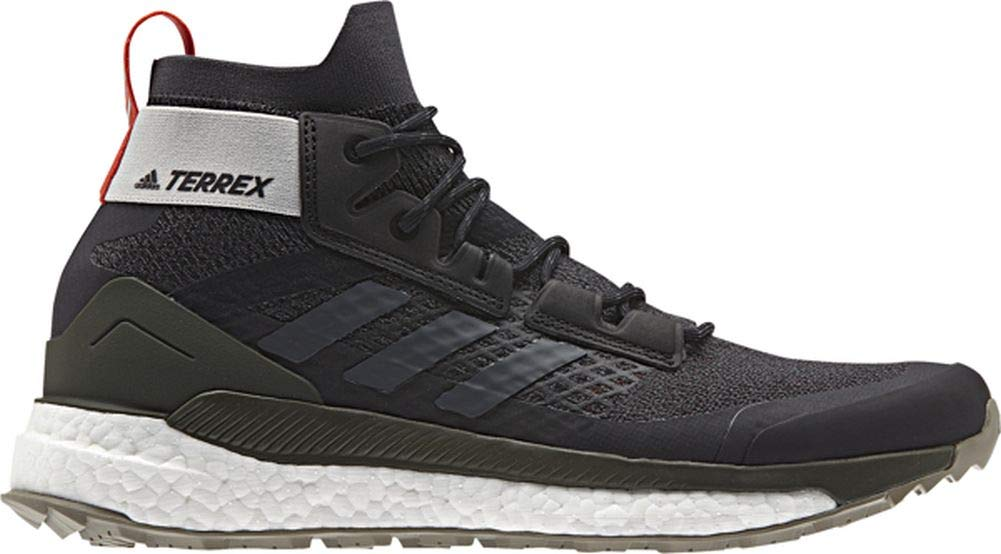 adidas outdoor Terrex Free Hiker Boot - Men's Black/Grey Six/Night Cargo, 8.5
