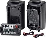 Yamaha STAGEPAS 400BT Portable PA System Bundle