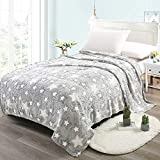 home blanket large 3d flannel fleece throw blanket for bedding & sofa couch   super soft star