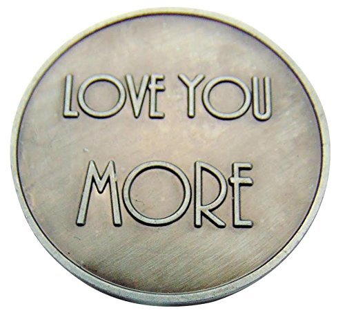 Love Token (Love You More XO Pocket Token 1 1/4 Inch)