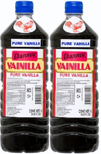 2 X Danncy Dark Pure Mexican Vanilla Extract From Mexico 33oz Each 2 Plastic Bottle Lot Sealed (Mexican Vanilla Extract compare prices)