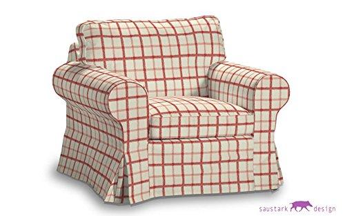 Saustark Design saustark design cover for ikea ektorp armchair chequered