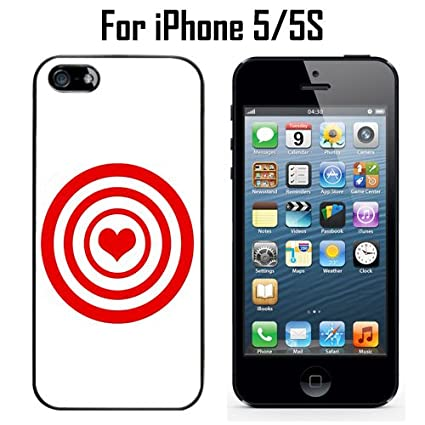 new style 119a9 3f198 Amazon.com: Heart Target Custom Case/ Cover/Skin *NEW* Case for ...