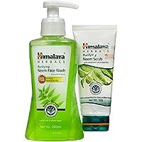 Himalaya Purifying neem Face Wash 200 ml + (Neem Scrub 50gm free)
