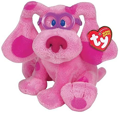 Beanie Babies Magenta Blues Clues Amazonde Spielzeug