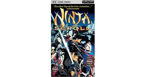Amazon.com: Ninja Scroll [UMD for PSP]: Yoshiaki Kawajiri ...