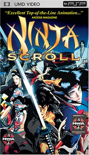 Amazon.com: Ninja Scroll [UMD for PSP]: Yoshiaki Kawajiri ...